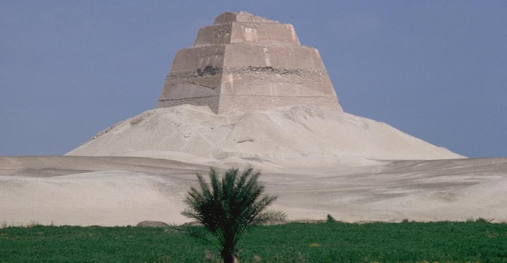 king huni, the pyramid of maydum, king snefru, limestone, step pyramid, ancient egypt, egyptian pyramids