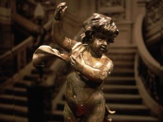 cherub, recovered cherub, the titanic, the titanic wreckage