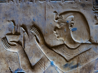 egyptian relief sculpture, reign of seti I, 1290 BCE, 1279 BCE, the temple of seti I, ancient egypt