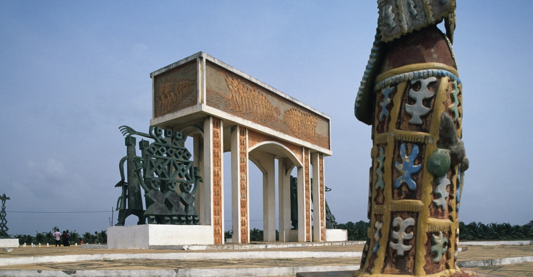 road of the slaves, monument, west african county, benin, slavery, point of no return, slave trade, black history