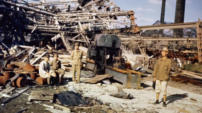 japanese soldiers, 1945, nagasaki, atomic bomb, world war II