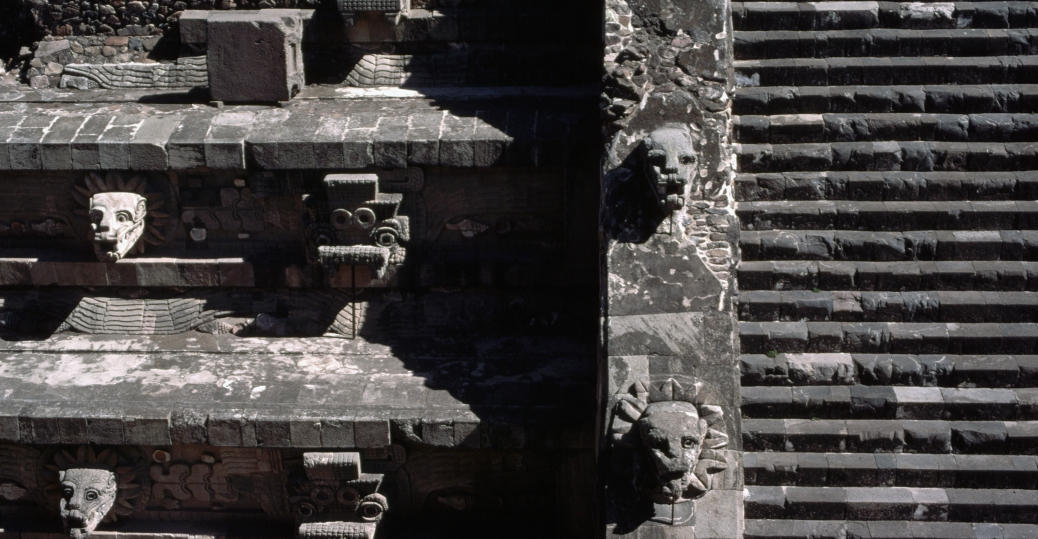 pyramid of the sun, the street of the dead, Teotihuacan, latin america, mesoamerican pyramids, stairway of the pyramid of the sun, the feathered snake, quetzalcoatl