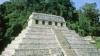 temple of the inscriptions, hieroglyphics, palenque, mexico, mesoamerican pyramids, latin america
