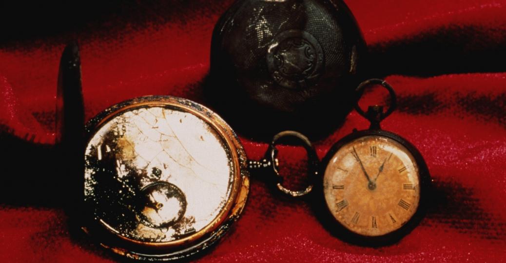 the titanic, the wreckage of the titanic, titanic passengers, pocket watches, titanic possessions