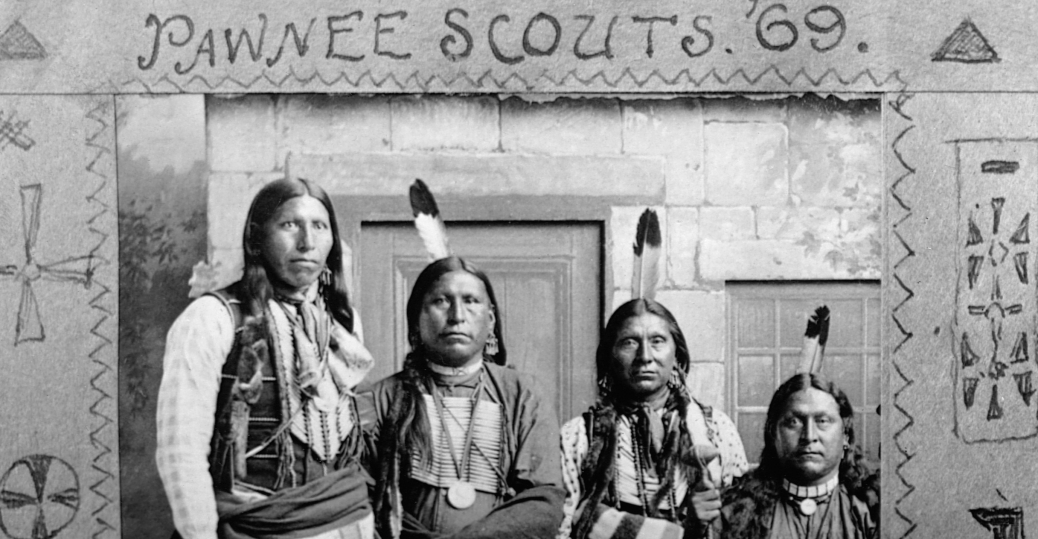 United States Army Pawnee Scouts Native American