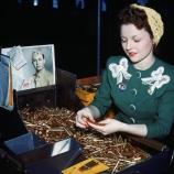 .30 caliber rifle, machine gun, bullets, fee perez, remington arms company, bridgeport, connecticut, women factory workers, world war II, women in the workforce