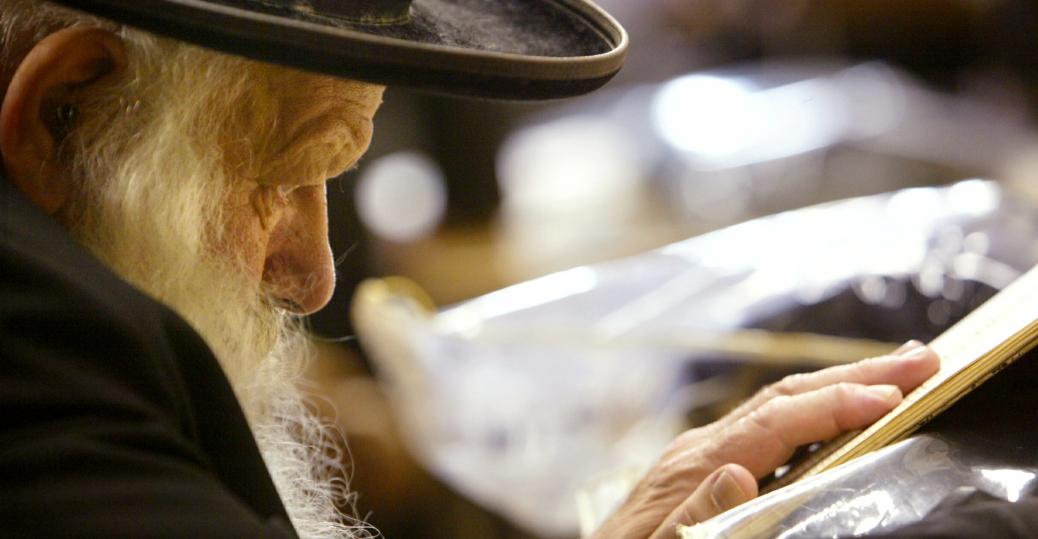 morning prayers, mea shearim, jerusalem, rosh hashanah
