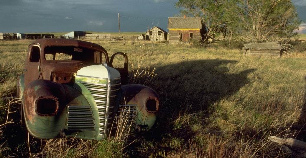 abandoned farm, colorado, the dust bowl, the great depression