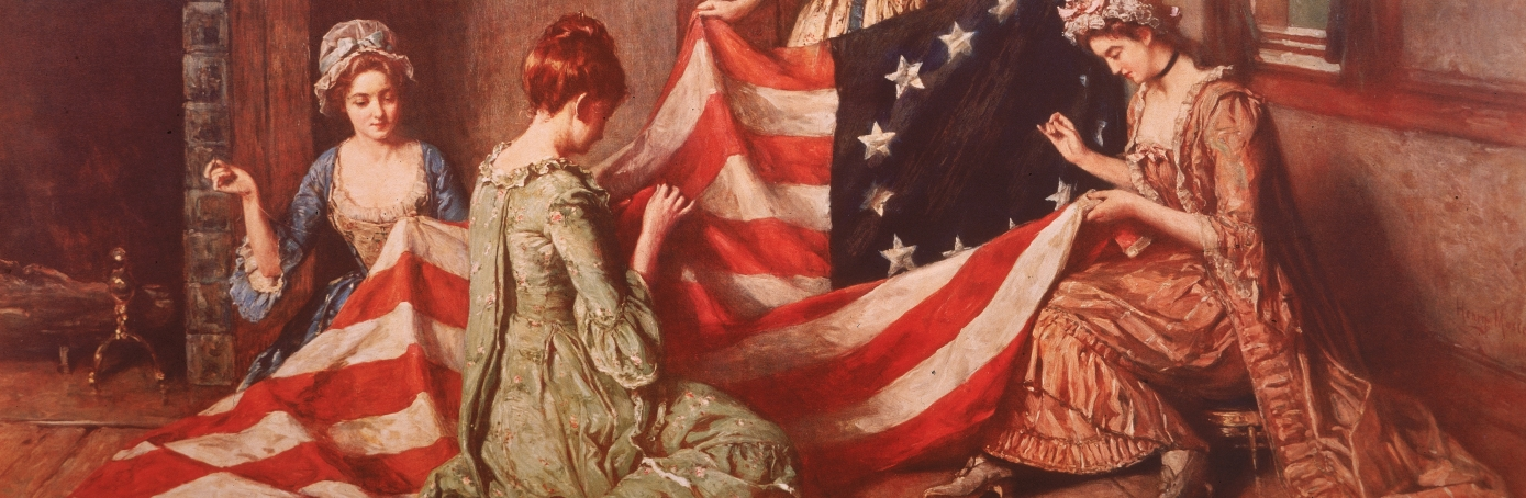 The role of betsy ross to the american flag