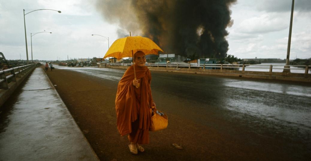 buddhist monk, tet offensive, the vietnam war