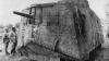 A7V tank, the great war, trench warfare, the western front, world war I, world war I technology, france, german tank