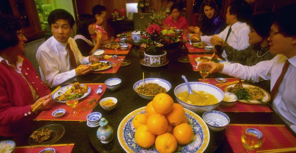 Traditional Chinese New Year Food Hong Kong