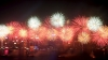 victoria harbour, hong kong, china, chinese new year, fireworks, new year traditions, holidays