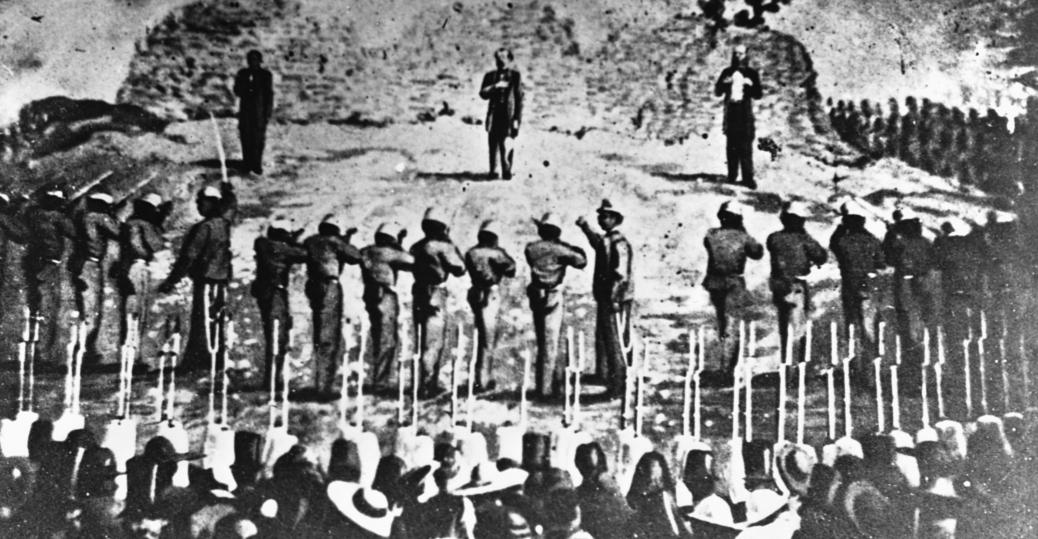 maximilian I, emperor of mexico, 1867, execution of maximilian I, benito juarez