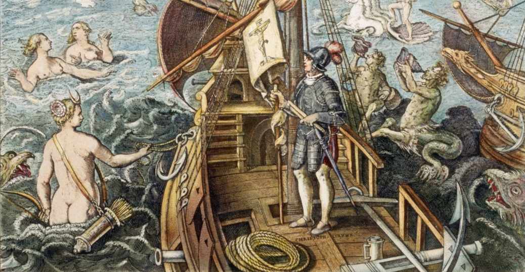 a history of the christopher columbus journey in european travels The voyages of christopher columbus provide beyond columbus: teaching the lessons of an understanding of european society during columbus's.