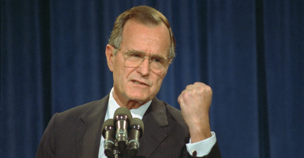 george bush, 41st president of the united states, presidents: world war II to today, presidents of the united states