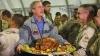2003, president george bush, baghdad, u.s. troops, thanksgiving, thanksgiving dinner