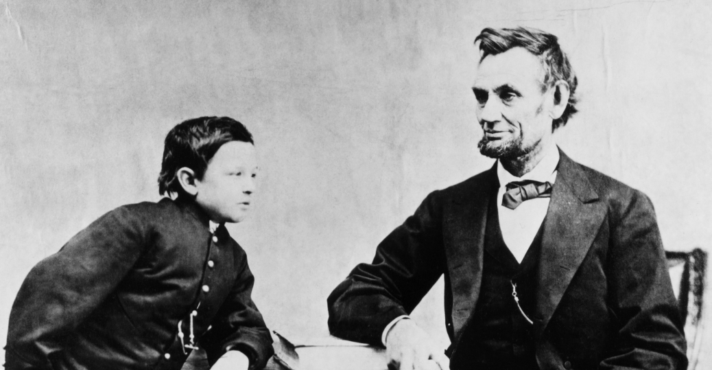 abraham lincoln, thomas lincoln, tad lincoln, the lincoln family, presidents and their children