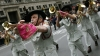 columbus day, columbus day parade, italian marching band, manhattan