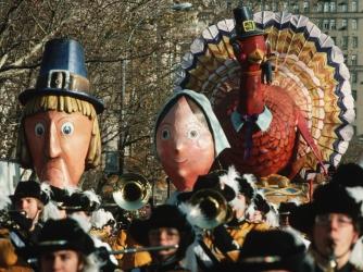 pilgrims, turkey, america's first thanksgiving, macy's thanksgiving day parade