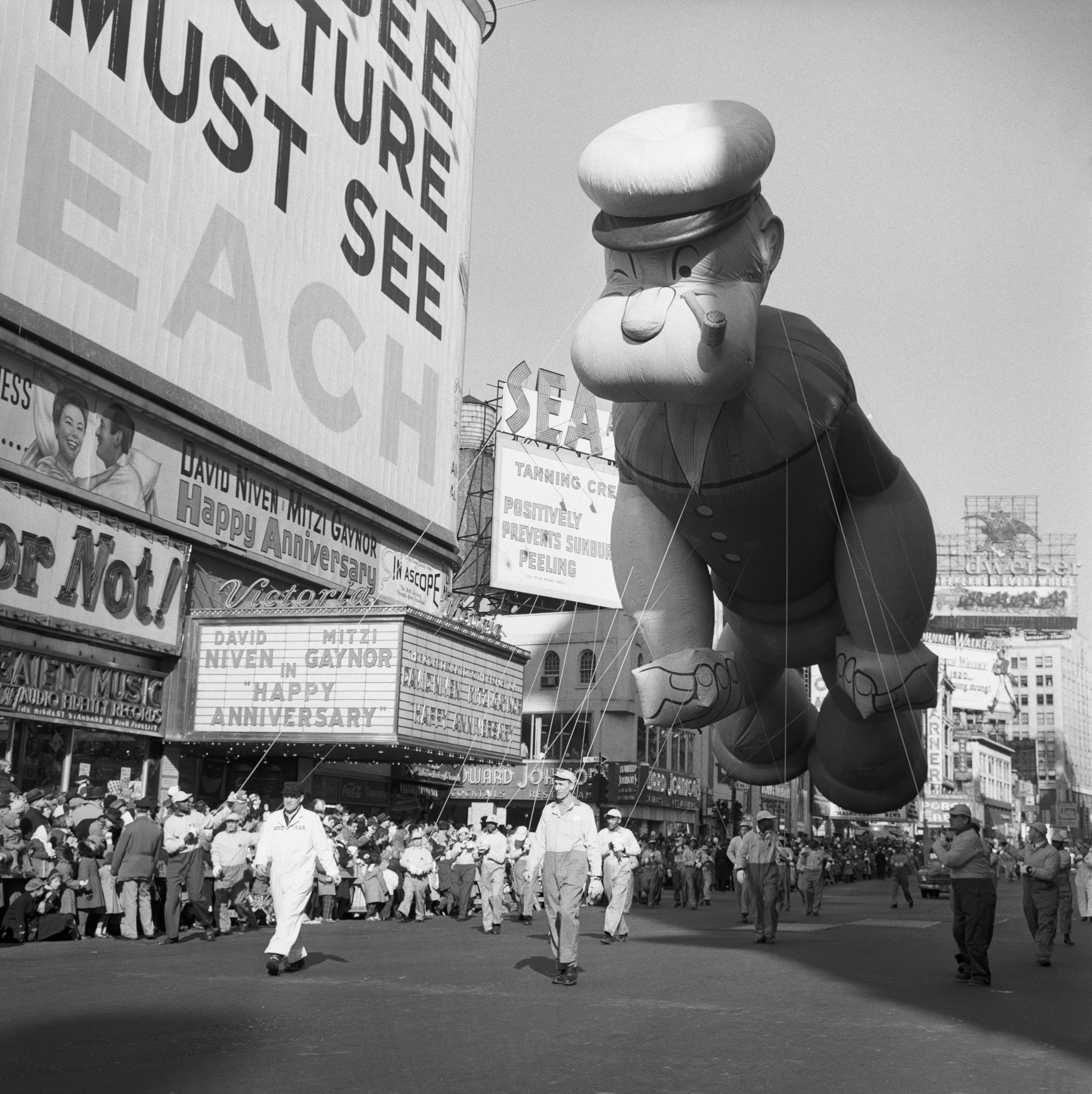 Popeye Macys Thanksgiving Day Parade 1959