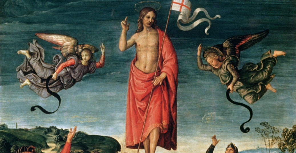 resurrection of christ, raphael, easter