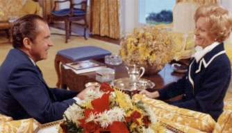 Richard and Pat Nixon