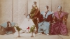 hara-kiri scene, hara-kiri ritual, seppuku, samurai warrior culture, feudal japan, samurai warriors