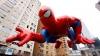 spiderman, macy's thanksgiving day parade, manhattan, thanksgiving