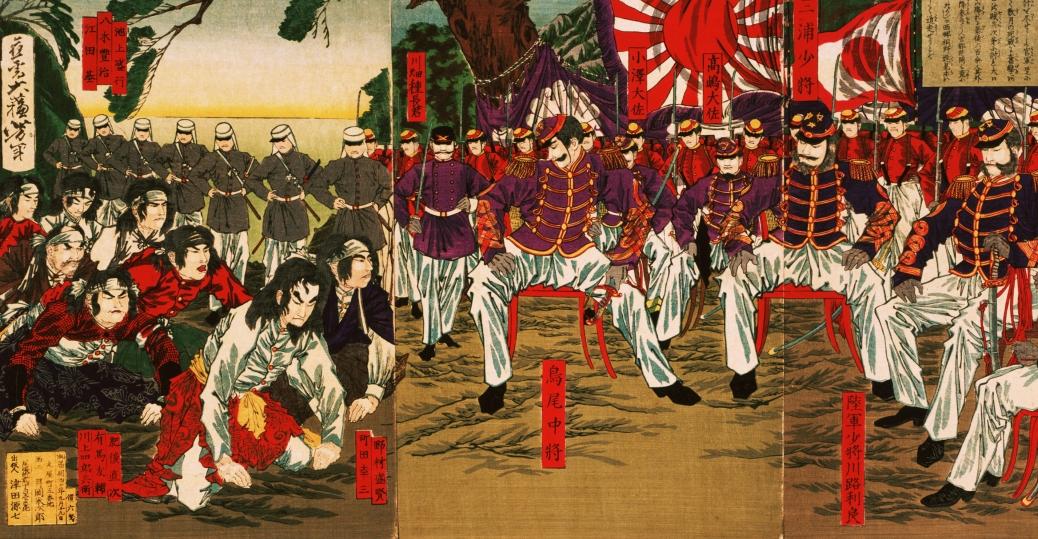 Satsuma Rebels, satsuma samurai, 1877, japan, westernization of japan, meiji restoration