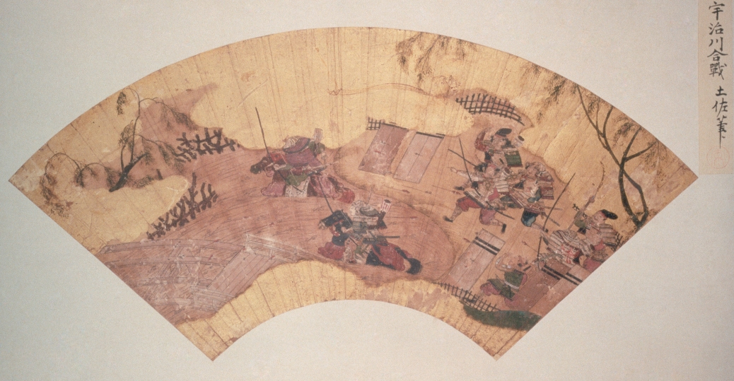 battle scene, battle of uji, genpei war, yoritomo's rise to power, feudal japan