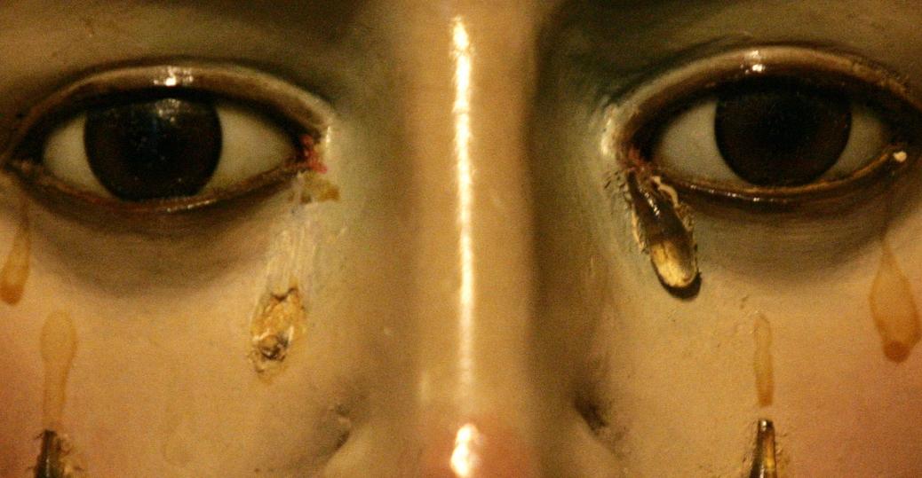 holy week, spain, easter, the virgin mary, the chapel of las tres gracias, pontevedra