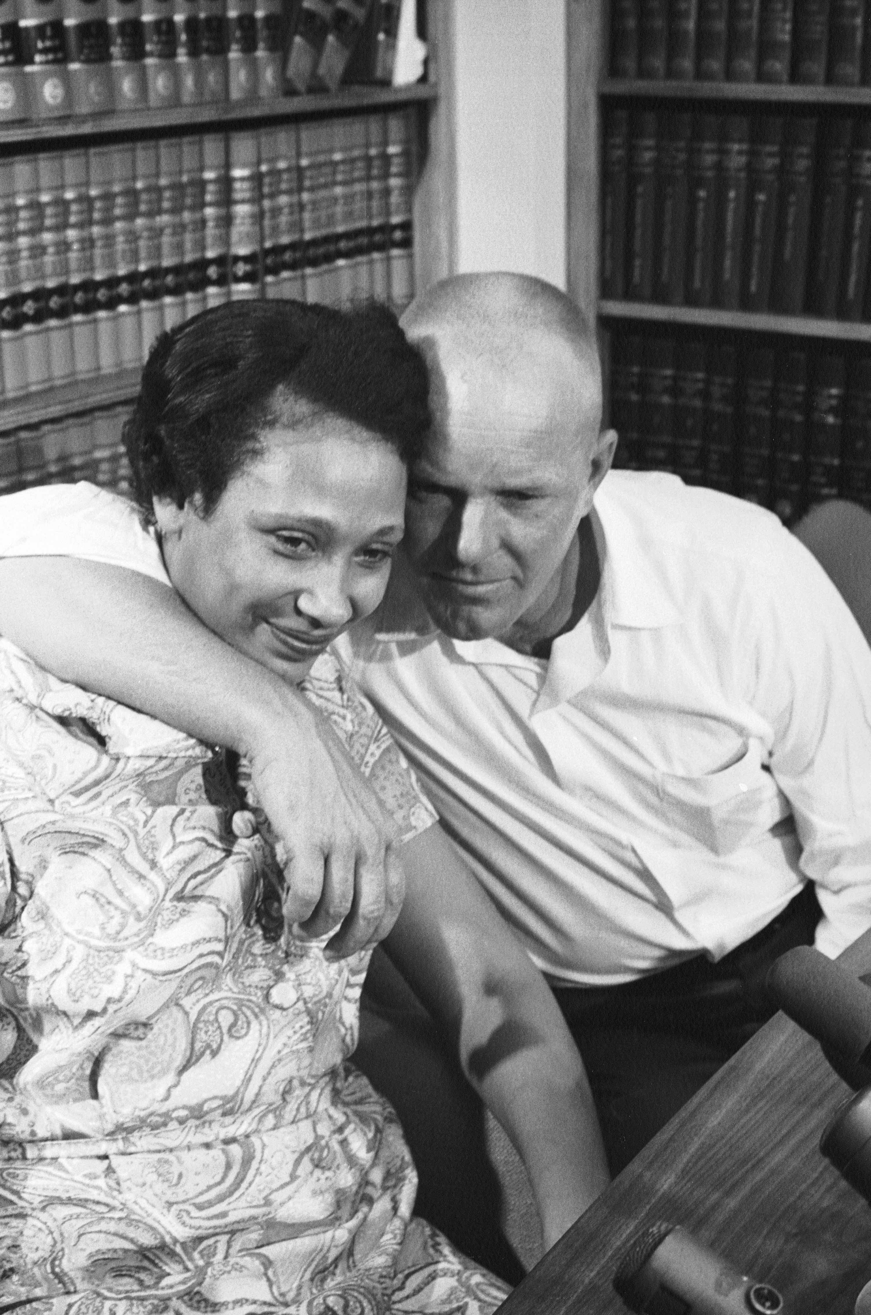 Impossible. 1967 interracial law marriage overturned