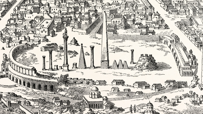 Circus and hippodrome at Constantinople (Credit: Getty Images)