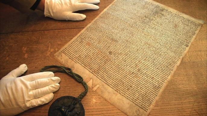 magna carta, british history
