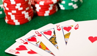 Where did poker originate?