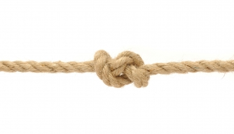 Why is a ship's speed measured in knots?