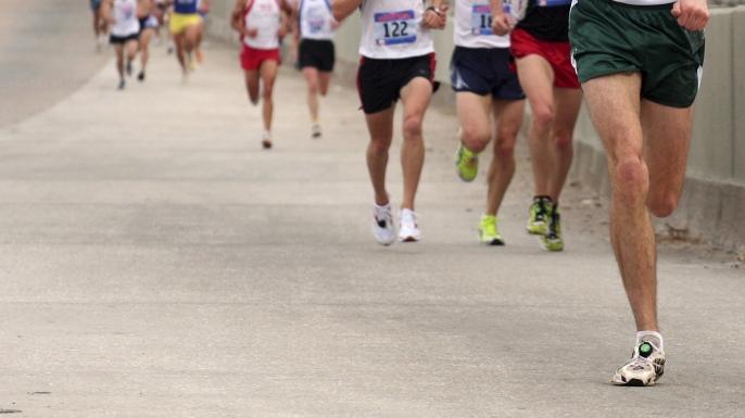 running, marathon