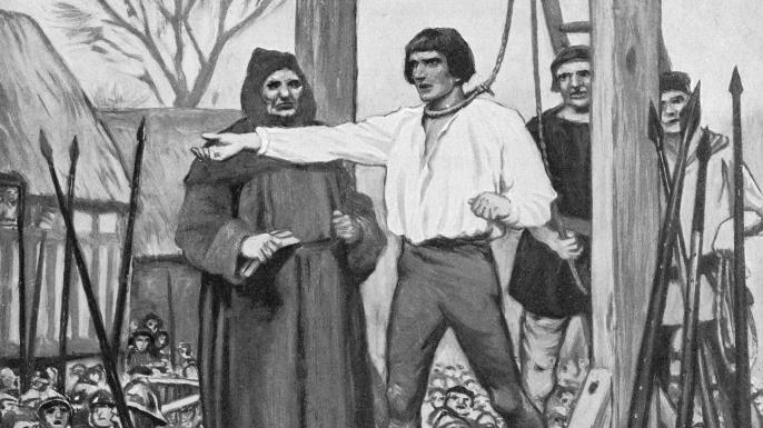 Hanging of Perkin Warbeck