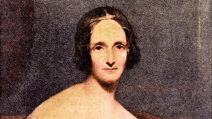list History's Great Romantics Mary Wollstonecraft Shelley -