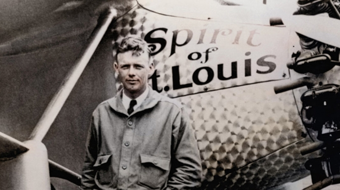 Image result for charles lindbergh begins his transatlantic flight