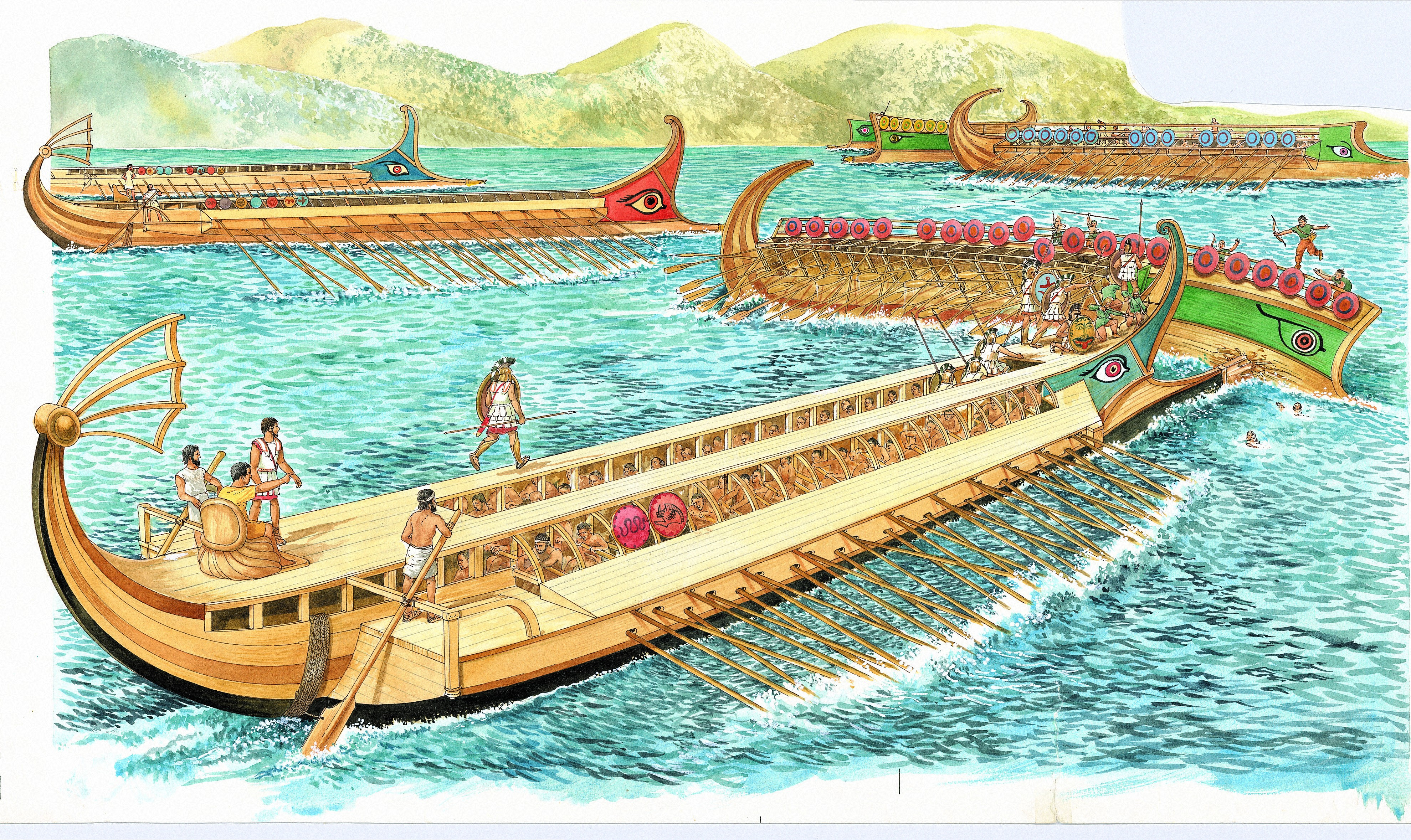 6 Ancient Naval Battles - History Lists