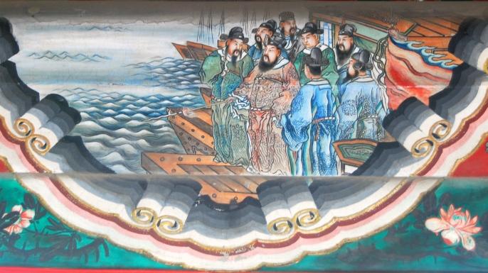 LIST 6 Ancient Naval Battles - Red Cliffs