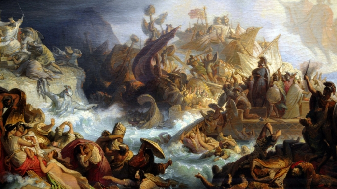 Famous Battle Scenes Paintings