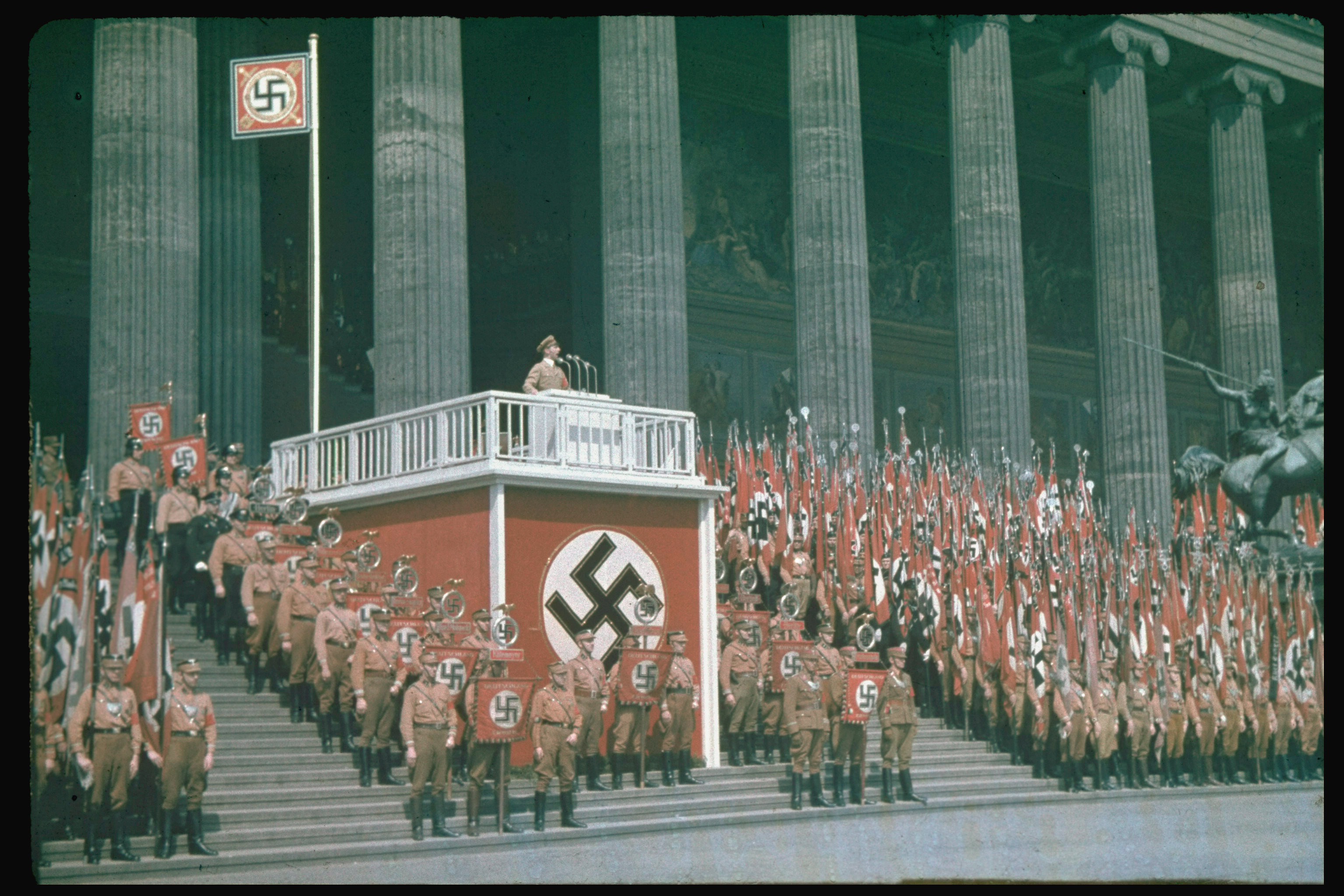 """nazi germany propaganda speech Hateful words: nazi propaganda and the freedom of expression by  in his  speech """"radio as the eight great power"""", goebbels declares: """"it."""