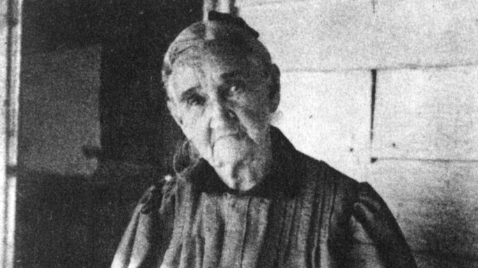 Frank and Jesse James' mother, Zerelda (Credit: The Print Collector/Getty Images)