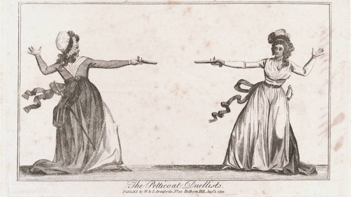 Lady Almeria Braddock and Mrs. Elphinstone.