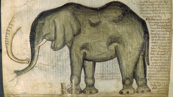Henry III's elephant (Credit: British Library/Robana via Getty Images)