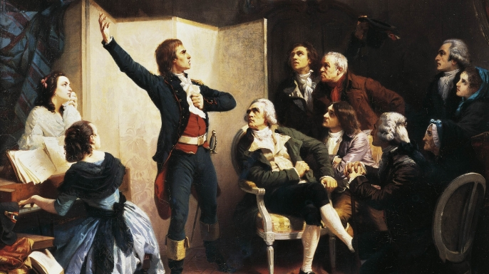 list 8 National Anthem Backstories marseille Claude Joseph Rouget de Lisle (1760-1836)