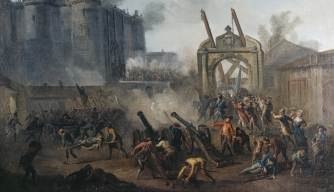 A French Mob Storms the Bastille, 225 Years Ago